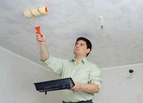Чи потрібно гарантувати стелю перед фарбуванням
