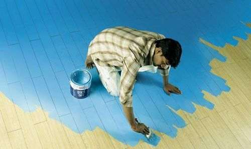 Чим помити підлогу після фарбування