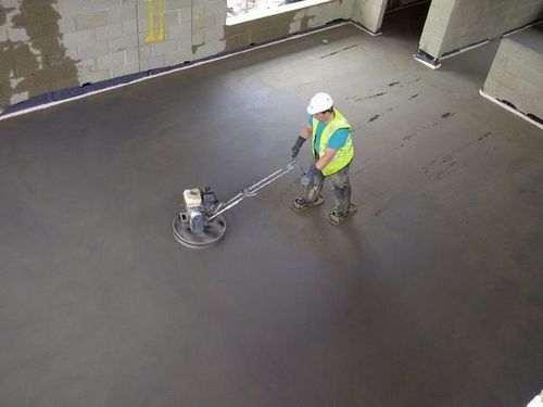Чорнова стяжка підлоги що це