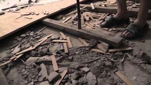 Демонтаж підлоги в квартирі