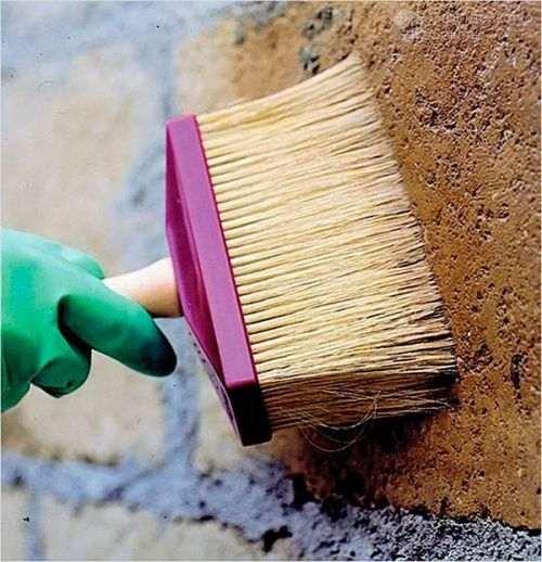 Фарбування бетонної огорожі відео