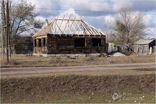 Як Будувати Будинок З Шпал