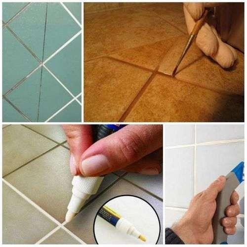 Як оновити затірку плитки у ванній
