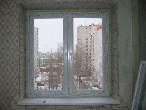 Як правильно встановити укоси на вікна