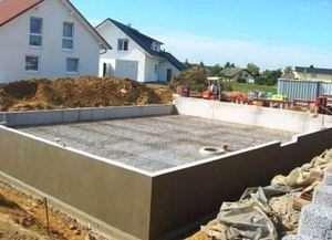 Як правильно залити фундамент під будинок