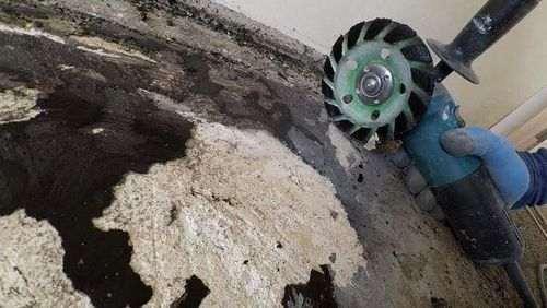 Як прибрати бітум з бетону