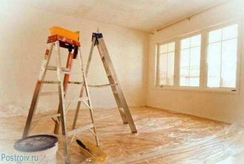 Як прибрати цементний пил з підлоги