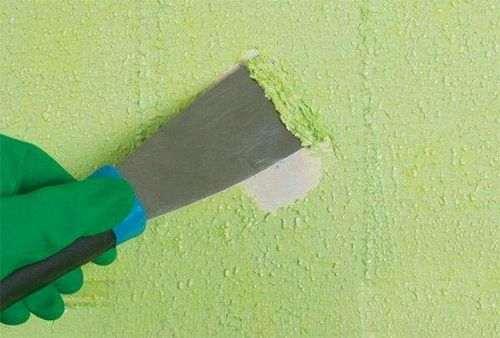 Як Прибрати Фарбу З Бетонної Стіни