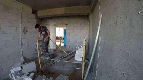 Як розібрати стіну з газоблоку