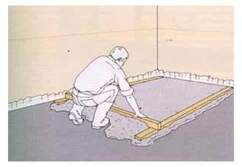 Як розрахувати матеріал на стяжку підлоги