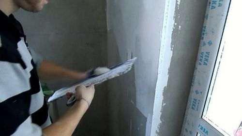 Як шпаклювати стіни під фарбування відео