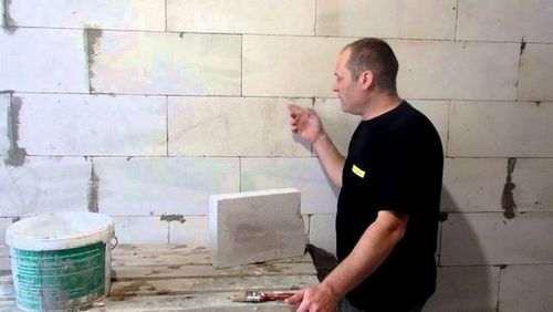 Як штукатурити стіни з газоблоку