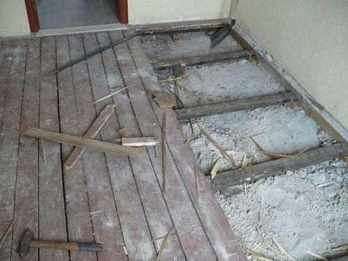 Як укладати ламінат на дерев'яну підлогу