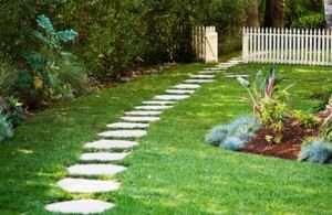 Як укласти тротуарну плитку на землю