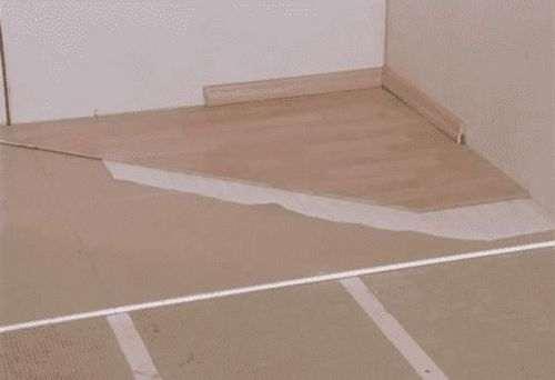 Як утеплити бетонну підлогу на першому поверсі