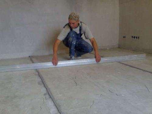Як вирівняти бетонну площадку на вулиці