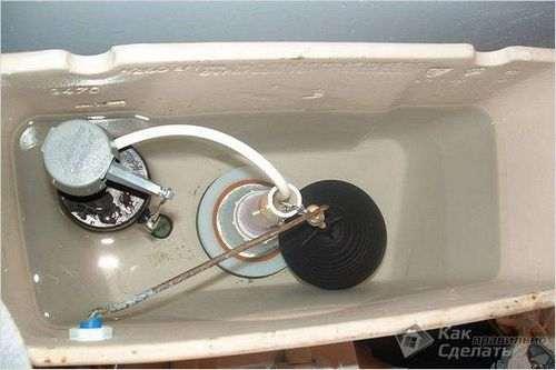 Як встановити арматуру в зливний бачок унітазу