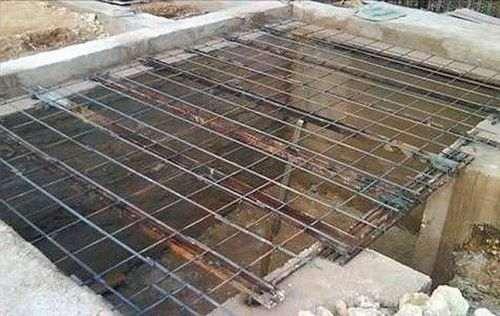 Як залити дах льоху бетоном