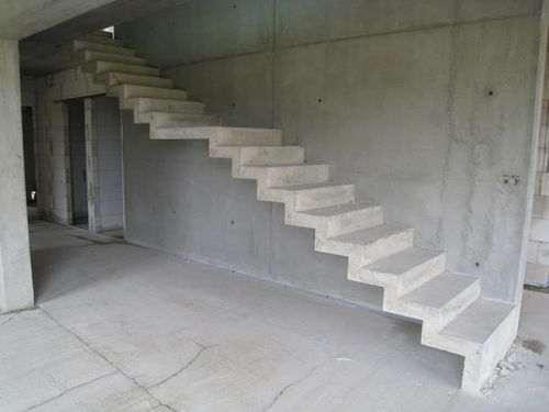 Як зробити бетонні сходи в будинку