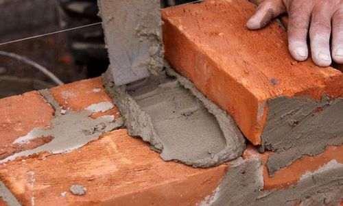 Як зробити кольоровий розчин для кладки цегли