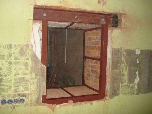 Як Зробити Вікно В Стіні