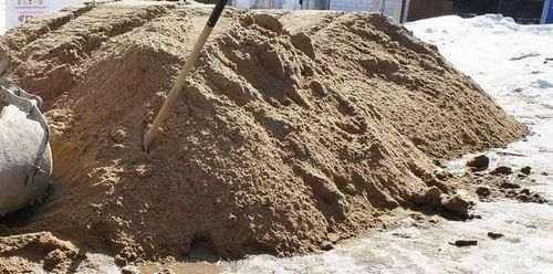 Який пісок потрібен для стяжки