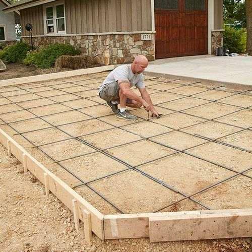 Как уложить бетон