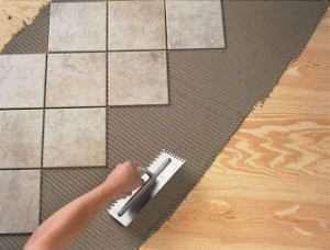 Кладемо плитку на дерев'яну підлогу