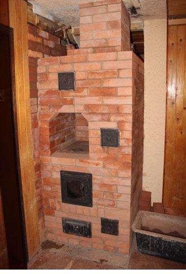 Кладка печі в дерев'яному будинку