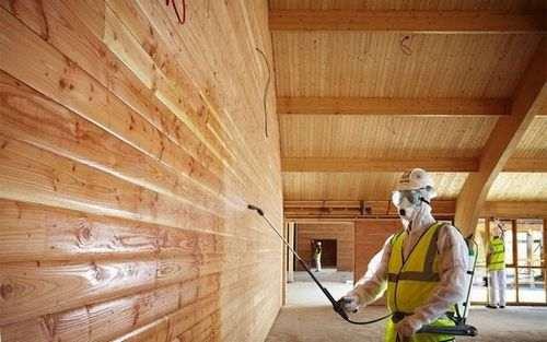 Обробка деревини гашеним вапном