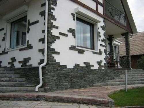 Оздоблення фасадів громадських будівель