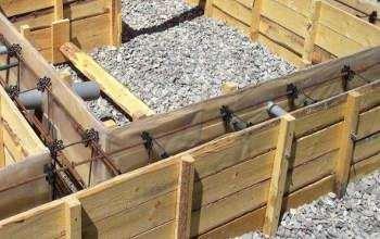 Підготовка опалубки до заливання бетону
