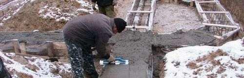 При якій температурі повітря можна заливати бетон
