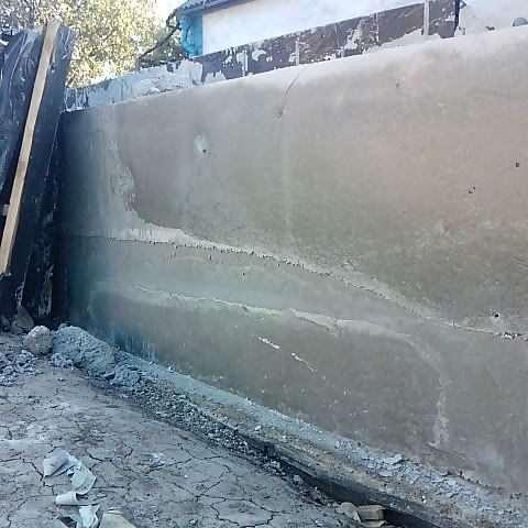 Пропорції бетону в лопатах