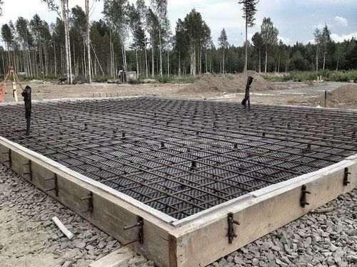 Розрахунок арматури фундаментної плити