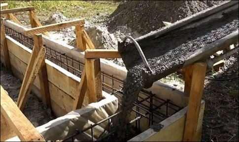 Розрахунок обсягу бетону на палі