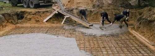 Розрахувати кількість бетону на фундамент