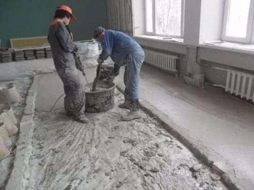 Розрахувати кількість бетону на стяжку