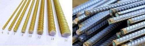 Що краще склопластикові арматура або металева