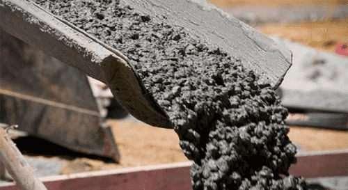 Скільки цементу йде на 1 куб бетону