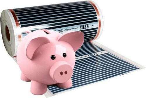 Скільки енергії витрачає тепла підлога