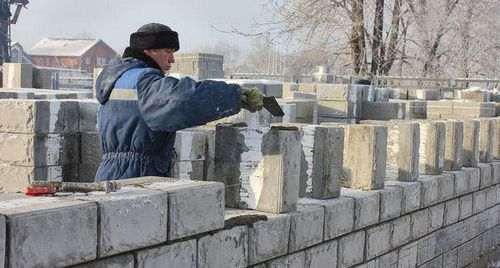 Скільки потрібно цементу на кладку тисяча шлакоблоку