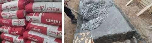 Скільки в кубі бетону цементу