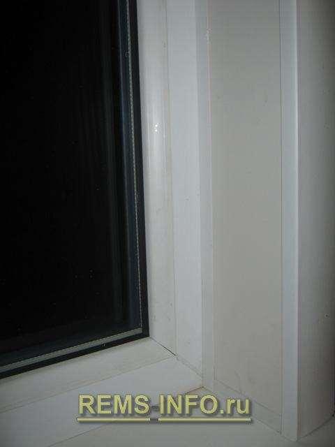 Укоси на арочні вікна з сендвіч панелей