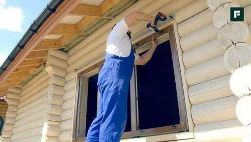 Установка Вікон В Дерев'Яному Будинку