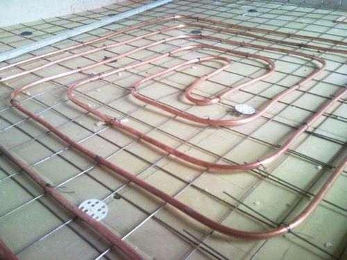 З яких труб краще зробити тепла підлога