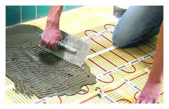 тепло, підлога, плитка, краще, вибрати