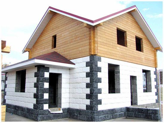 термопанелі, зовнішньої, обробки, будинку, газобетон
